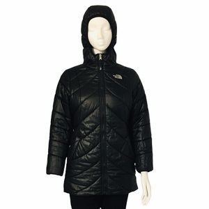 THE NORTH FACE GIRL  REVISABLE JACKET SIZE L G